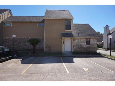 Jefferson Parish, Orleans Parish Condo For Sale: 1500 W Esplanade Avenue #6F