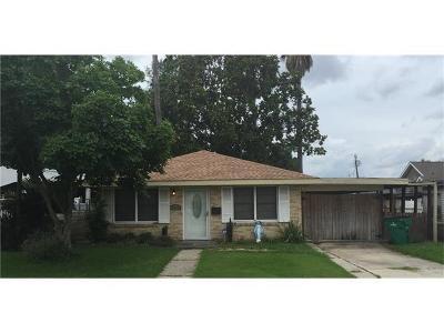 Marrero Single Family Home For Sale: 1024 Farrington Drive
