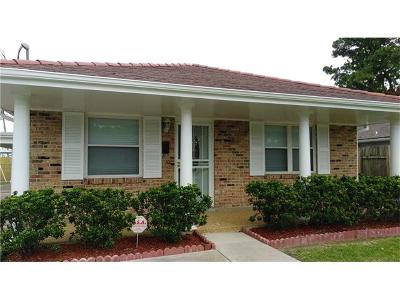 New Orleans Single Family Home For Sale: 4529 Citrus Drive