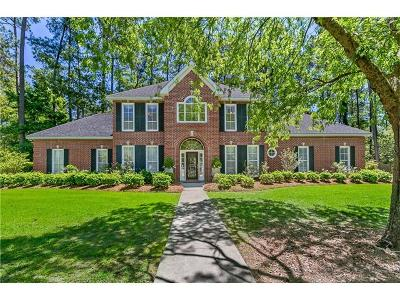 Madisonville Single Family Home For Sale: 101 President Madison Drive