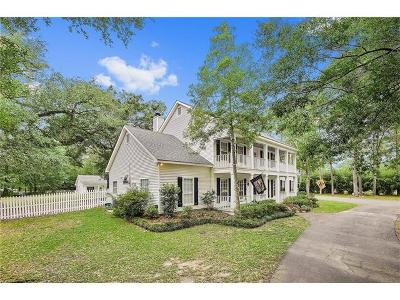 Madisonville Single Family Home For Sale: 69485 1077 Highway