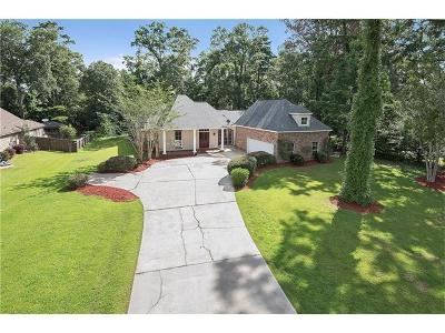 Madisonville Single Family Home For Sale: 344 Sandy Brook Circle