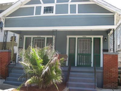 New Orleans Multi Family Home For Sale: 2321 Short Street