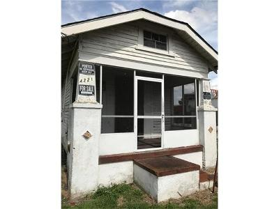 New Orleans Single Family Home For Sale: 4221 Dale Street