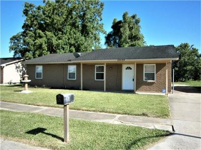 Marrero Single Family Home For Sale: 5829 Lacombe Avenue