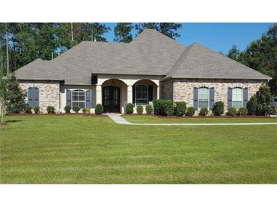 Madisonville Single Family Home For Sale: 274 Le Cirque