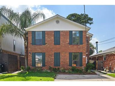 New Orleans Single Family Home For Sale: 6562 Bellaire Drive