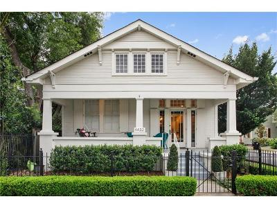 New Orleans Single Family Home For Sale: 4432 Constance Street