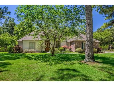 Madisonville Single Family Home For Sale: 321 Wilderness Court