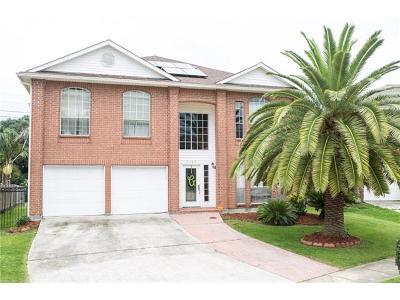 Gretna Single Family Home For Sale: 3109 Jason Lane