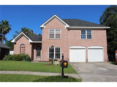 Marrero Single Family Home For Sale: 2637 Crestway Road