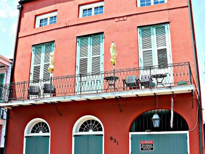 French Quarter Multi Family Home For Sale: 831 St Peter Street #3