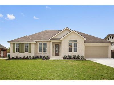 Gretna Single Family Home For Sale: 1212 Lake Frances Drive