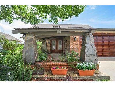 Gretna Single Family Home For Sale: 1216 Lake Frances Drive