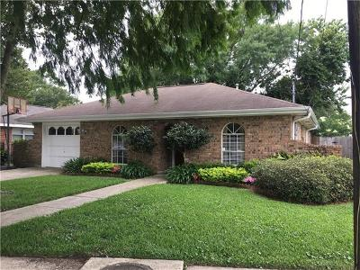 Metairie Single Family Home For Sale: 5112 Wilson Drive