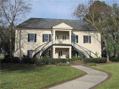 Jefferson Parish, Orleans Parish Condo For Sale: 9 Golf Villa Drive #A