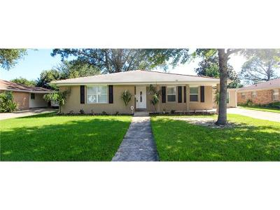 Metairie Single Family Home For Sale: 4609 James Drive