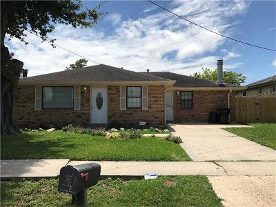 New Orleans Single Family Home For Sale: 7710 Brevard Avenue