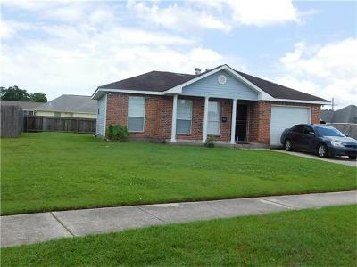 Westwego Single Family Home For Sale: 923 W Chante Court