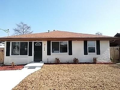Kenner Single Family Home For Sale: 3106 Idaho Avenue