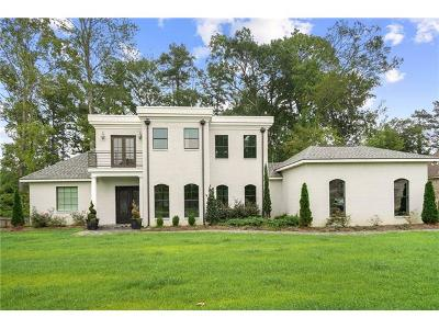 Madisonville Single Family Home For Sale: 348 Sandy Brook Circle