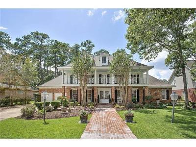 Single Family Home For Sale: 505 Beau Chene Drive