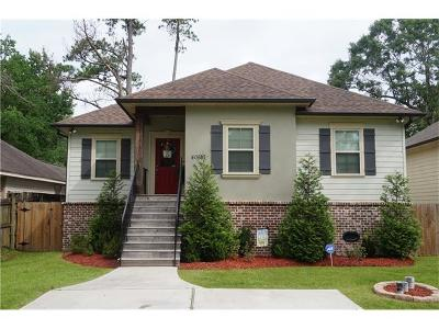 Slidell Single Family Home For Sale: 40587 Chinchas Creek Road