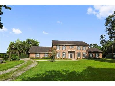 Slidell Single Family Home For Sale: 36260 Old Bayou Liberty Road
