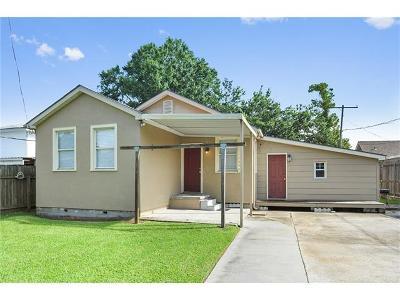 Westwego Single Family Home For Sale: 1352 Pecan Street