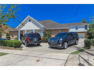 Metairie Single Family Home For Sale: 3617 Tolmas Drive