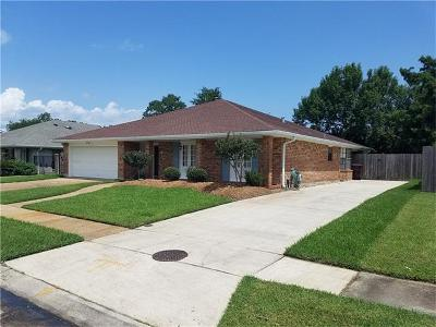 Kenner Single Family Home For Sale: 72 Sequoia Street