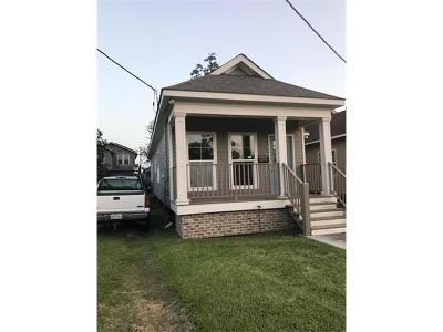 New Orleans Single Family Home For Sale: 2622 Gladiolus Street