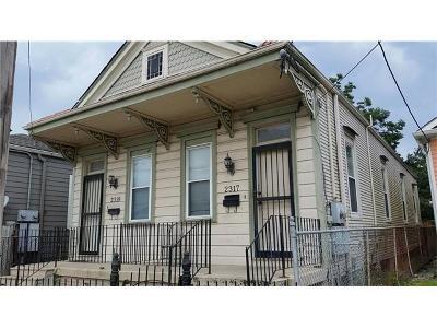 New Orleans Multi Family Home For Sale: 2317 Gravier Street