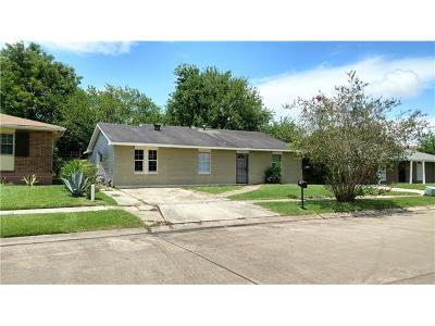 Marrero Single Family Home For Sale: 6152 August Avenue