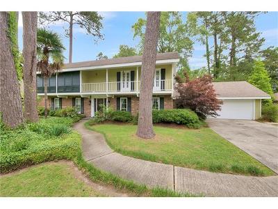 Single Family Home For Sale: 731 Bocage Lane