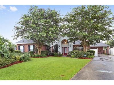 Marrero Single Family Home Pending Continue to Show: 104 Belle Grove Drive