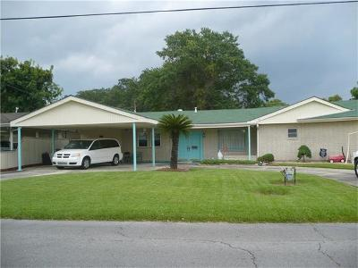 Westwego Single Family Home For Sale: 1015 Central Avenue