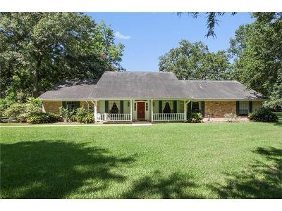 Destrehan Single Family Home For Sale: 42 Shadow Lane