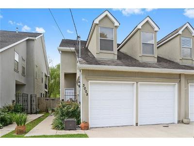 Jefferson Townhouse For Sale: 3008 D'aquin Street