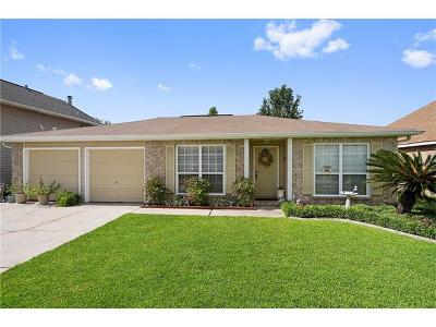 Slidell Single Family Home Pending Continue to Show: 6149 Clearwater Drive