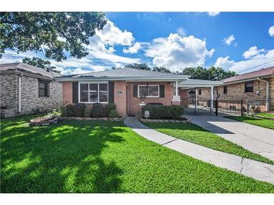 Westwego Single Family Home Pending Continue to Show: 803 Keller Avenue