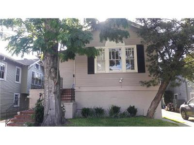 New Orleans Multi Family Home For Sale: 2720 Octavia Street