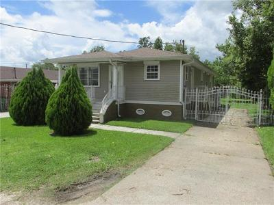 Marrero Single Family Home For Sale: 6610 15th Street