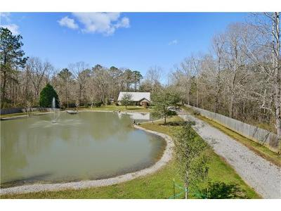 Madisonville Single Family Home For Sale: 454 Galatas Road