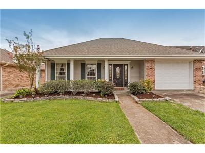 Kenner Single Family Home For Sale: 5432 David Drive