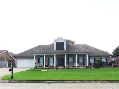Harvey Single Family Home For Sale: 3812 Lake Catherine Drive