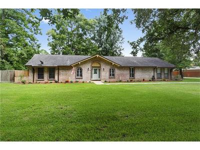 Slidell Single Family Home Pending Continue to Show: 2008 Old River Road