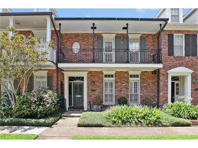 Metairie Townhouse For Sale: 329 Rue Saint Ann