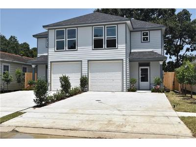 Metairie Townhouse For Sale: 3727 Derbigny Street