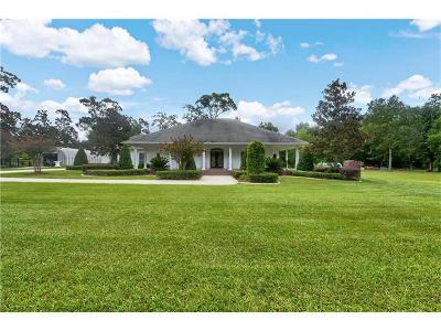 Madisonville Single Family Home For Sale: 1737 Hwy 22 Highway